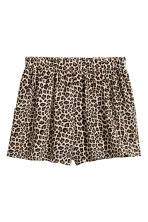 Short shorts - Leopard print - Ladies | H&M 2